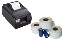 Scale printers & printer supplies