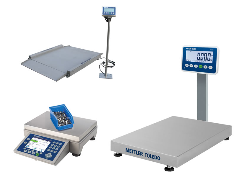 Weigh scale rental services